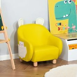 HOMCOM Cute Animal Kids Sofa Chair with Storage