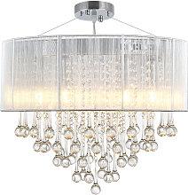HOMCOM Elegant Modern Crystallite Ceiling