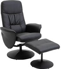 HOMCOM Executive Recliner Chair High Back and