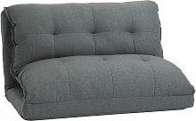 HOMCOM Foldable Lazy Sofa Adjustable Couch