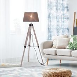HOMCOM Free Standing Floor Lamp, 65Lx65Wx99-143H