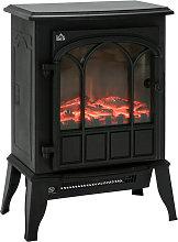 HOMCOM Freestanding Electric Fireplace Heater