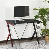 HomCom Gaming Computer Desk Workstation with