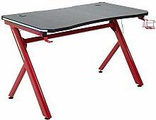 HOMCOM Gaming Desk Computer Table Metal Frame with