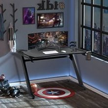 HOMCOM Gaming Desk Computer Writing Table with