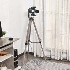 HOMCOM Industrial Style Tripod Floor Lamp for