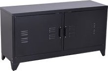 HOMCOM Industrial TV Cabinet Stand Media Center