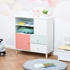 HOMCOM Kids Bookcase Multi-Shelf Modern