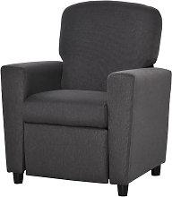 HOMCOM Kids Linen Recliner Armchair Single Seat