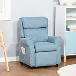 HOMCOM Kids Recliner Sofa Angle Adjustable Single