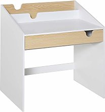 HOMCOM Kids Wooden Writing Study Desk with Drawer