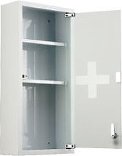 HOMCOM Locking Stainless Steel Medicine Cabinet