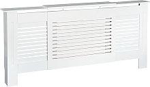 HOMCOM MDF Extendable Radiator Cover Cabinet