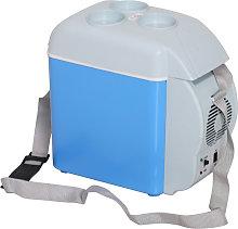 HOMCOM Mini Car Refrigerator Portable Electric