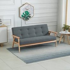 HOMCOM Modern 2/3-Seat Sofa Linen Fabric