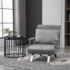 HOMCOM Modern 2-In-1 Design Single Sofa Bed