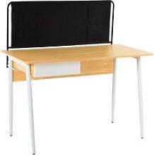 HOMCOM Modern Computer Desk Home Office Study