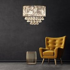 HOMCOM Modern Elegance Pendant Light Lamp with