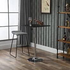 HOMCOM Modern Height Adjustable Counter Bar Table
