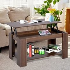 HOMCOM Modern Lift Up Top Coffee Table,