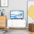 HOMCOM Modern TV Stand for TVs up to 45''