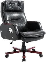 HOMCOM PU Leather Luxury Executive Swivel Office
