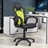 HOMCOM Racing Chair Gaming Sports Swivel Desk