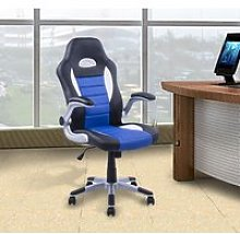 HOMCOM Racing Office Chair PU Leather Bucket