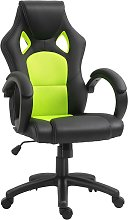 HOMCOM Racing Office Chair PU Leather Executive