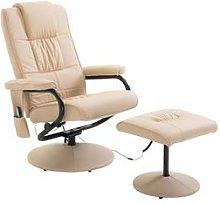 Homcom Recliner Massage Armchair: Black