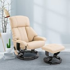 HOMCOM Recliner Sofa Electric Massage Chair Sofa