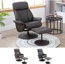 HOMCOM Reclining Chair Living Room Furniture with