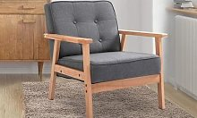 HomCom Retro-Effect Accent Chair