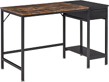 HOMCOM Steel Frame Computer Desk Home Office