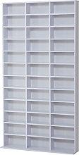 HOMCOM Storage Shelf CD Bookcase Shelf Unit