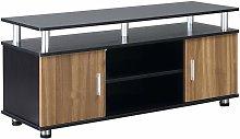 HOMCOM TV Cabinet Stand Entertainment Center Media