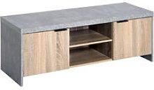 HOMCOM TV Stand Cabinet Media Unit Storage