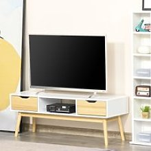 HOMCOM TV Stand Cabinet Unit for TVs up to 50 Inch