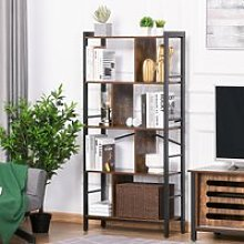 HOMCOM Vintage Industrial Style Storage Shelf