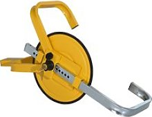 HOMCOM Wheel Clamp Lock for Φ47-67cm Wheels,