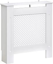 HOMCOM Wooden Radiator Cover Cabinet Modern Grill