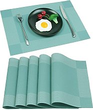 Homcomodar Place Mats Non slip Table Mats Heat