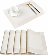 Homcomodar Table Mats Heat Resistance Kitchen