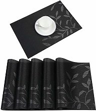 Homcomodar Washable Placemats Dining Room Kitchen