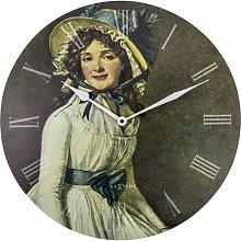 Home 50cm Portrait of Mrs Serizy Wall Clock NeXtime