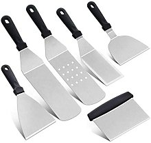 Home Barbecue Grill Tool 6pcs Set Stainless Steel