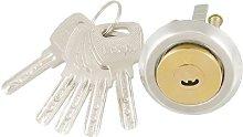 Home Brass Screw Crescent Keyway Security Door
