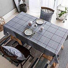 Home Brilliant Checker Plaid Tablecloths for