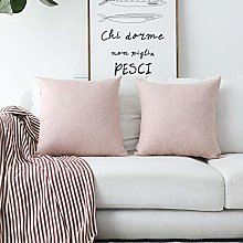 HOME BRILLIANT Set of 2 Pillow Covers Decorative