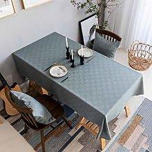 Home Brilliant Tablecloth Solid Farmhouse Checker